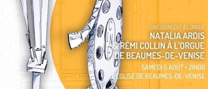 Ciné-concert à Beaumes-de-Venise