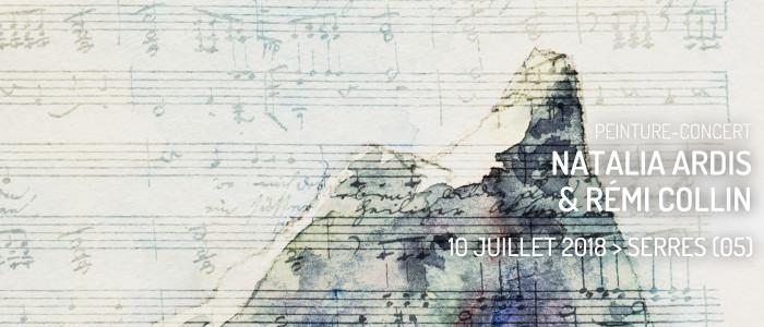 Peinture et orgue en concert par Natalia Ardis et Rémi Collin
