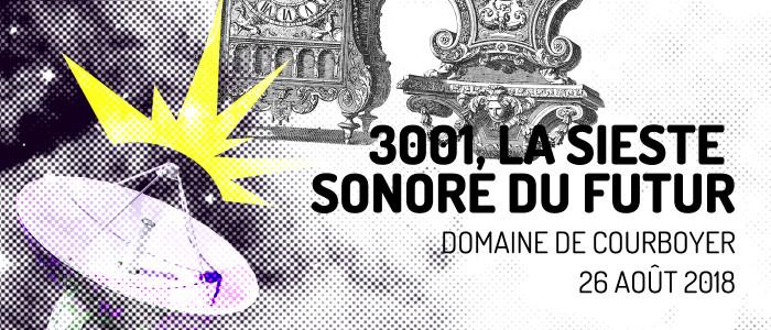 Sieste sonore au Domaine de Courboyer, Nocé, le 26 août 2018