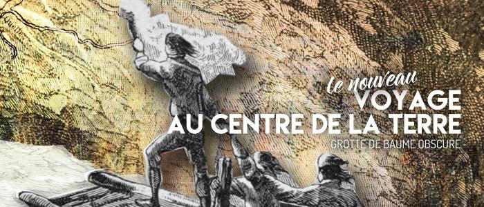"""Court métrage """"Le nouveau voyage au centre de la Terre"""", à la Grotte de Baume Obscure."""
