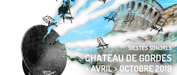 Siestes sonores au Château de Gordes — d'avril à octobre 2019