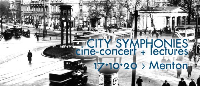 Ciné-concert et lectures à Menton pour les Journées nationales de l'architecture